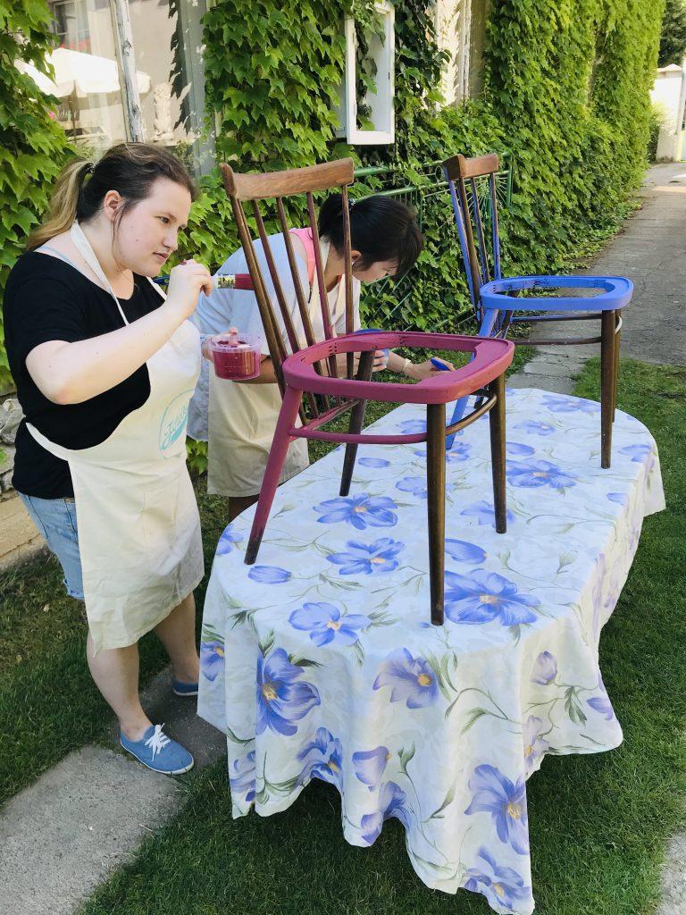 kurz maľovania nábytku