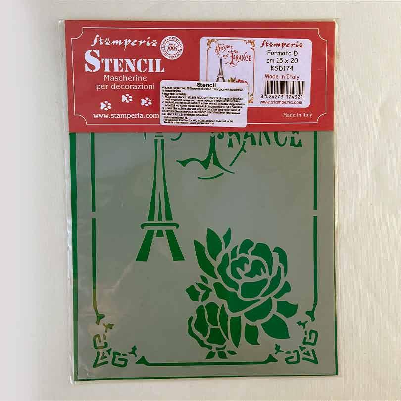 šablona na maľovanie nabytku stamperia - 7